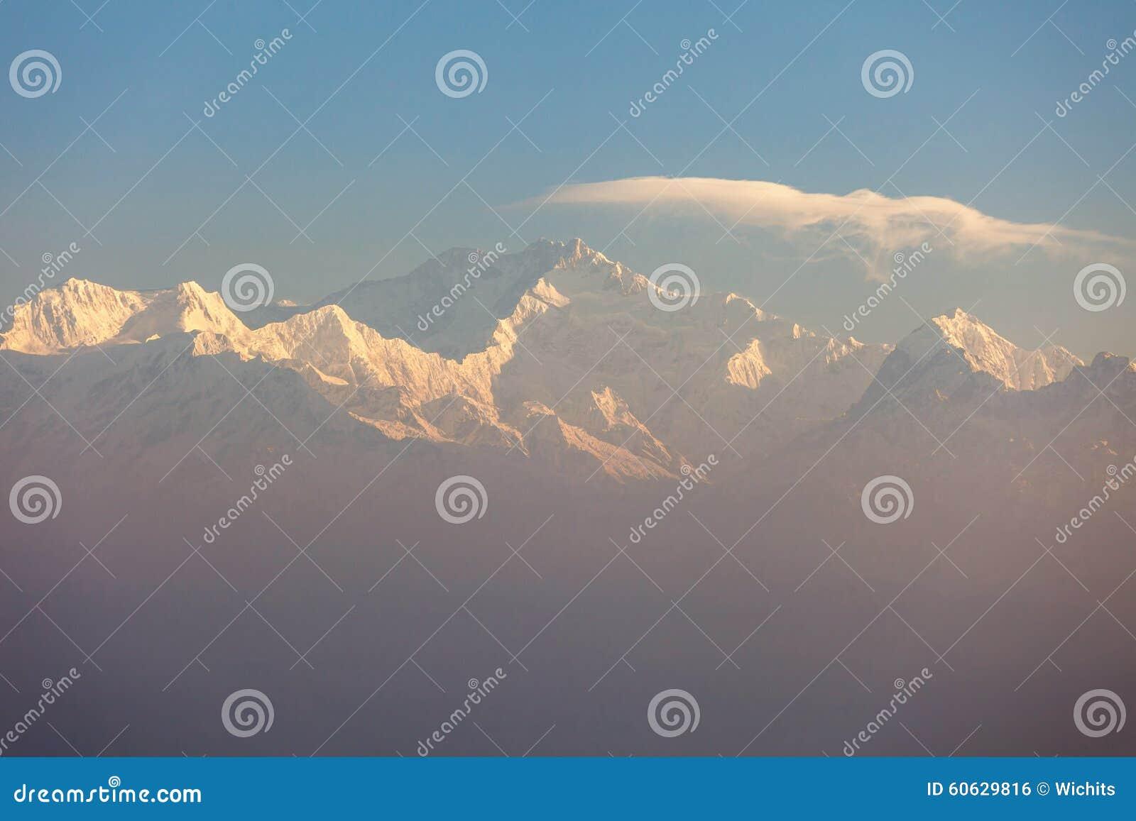 Download Khangchendzonga range peak stock photo. Image of park - 60629816