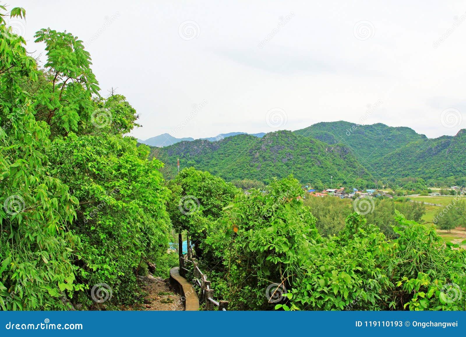 Khao Sam Roi Yot National Park Pathway, Thailand