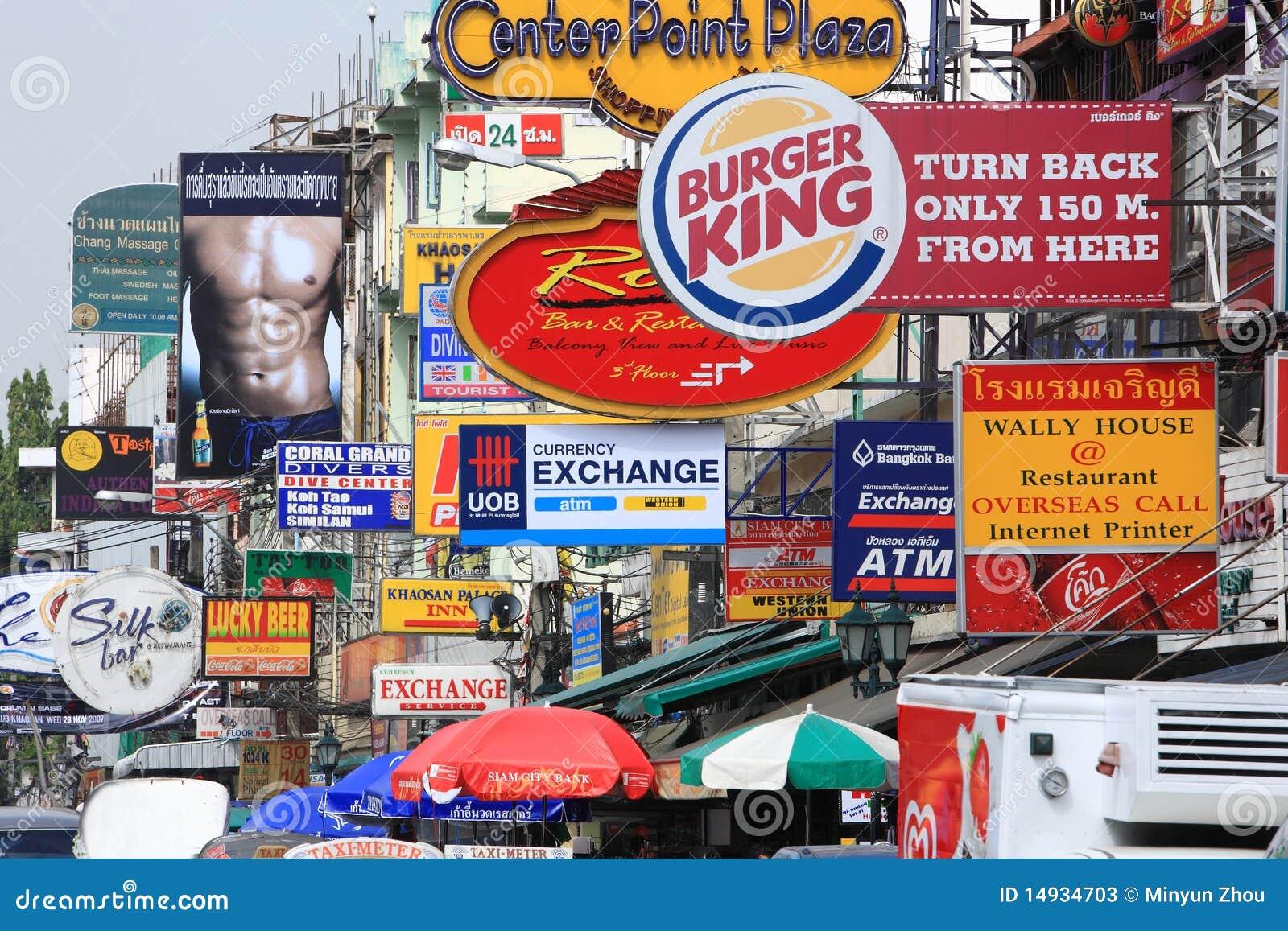 Khao San Road.Bangkok.thailand