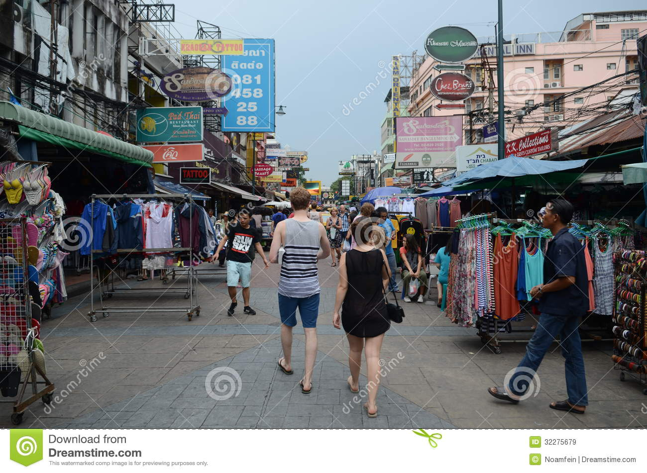 Khao San Road Bangkok Restaurants