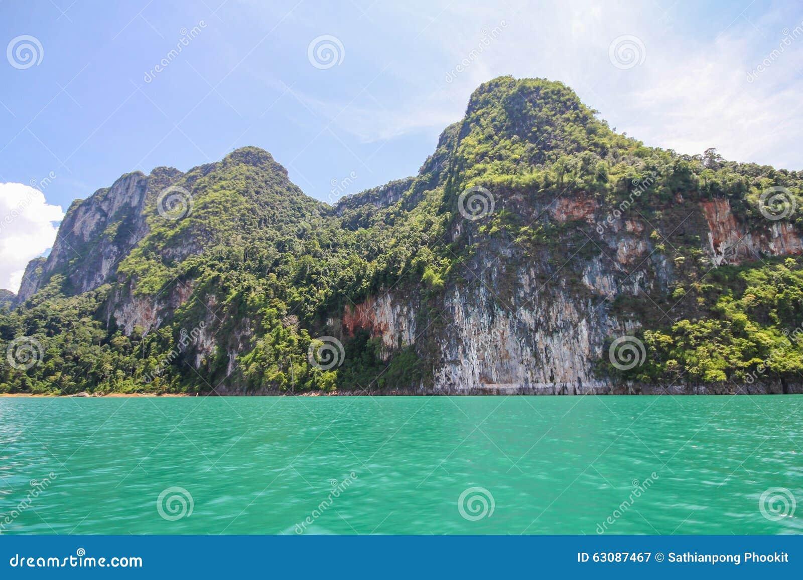 Download KHAO SOK National Park, Suratthani Thaïlande Image stock - Image du course, bois: 63087467