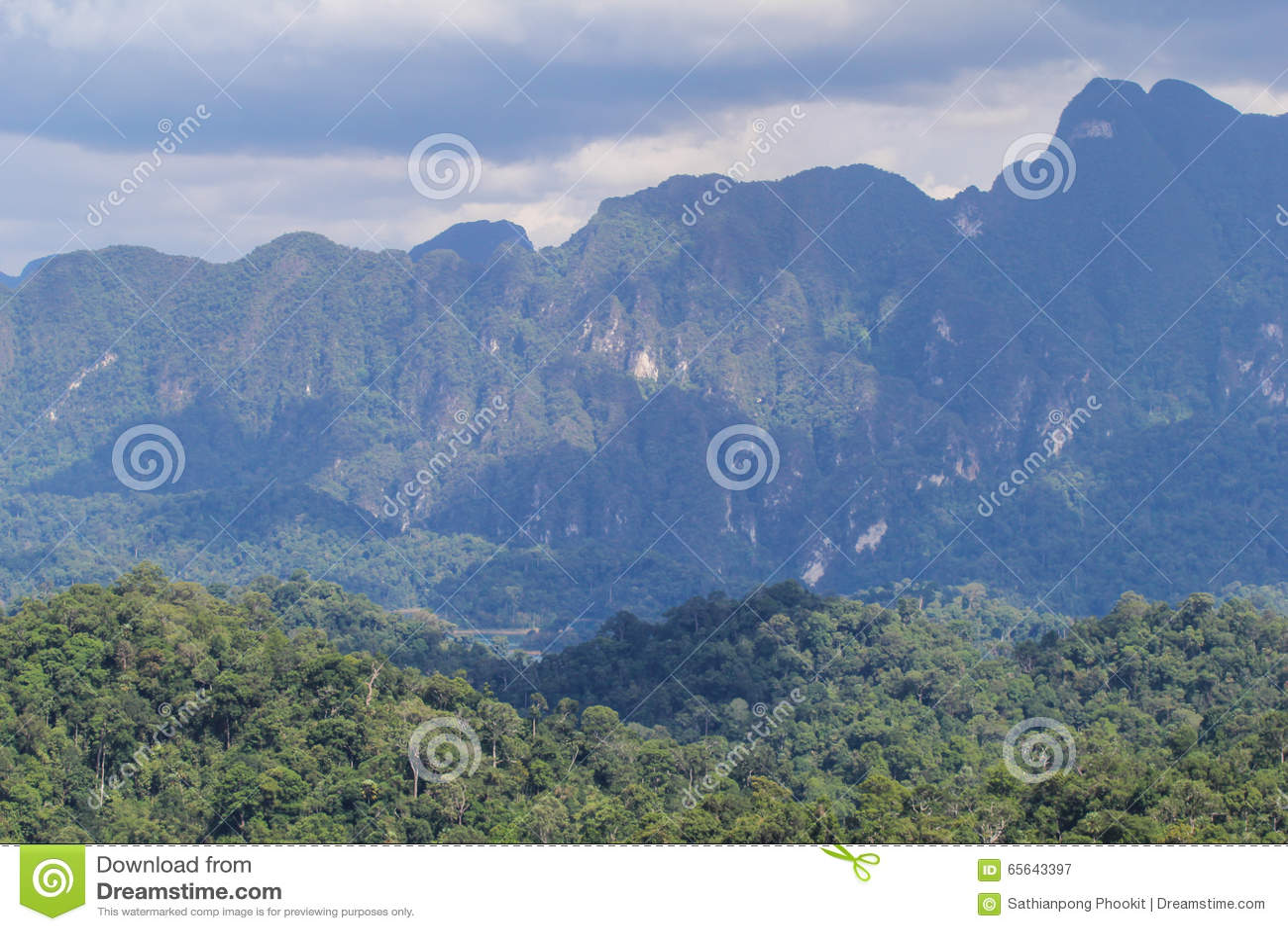 KHAO SOK National Park, Suratthani Thaïlande