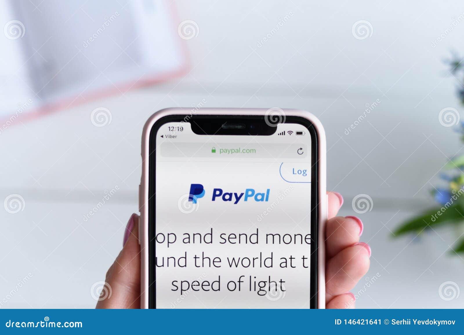 Paypal Ukraine 2019