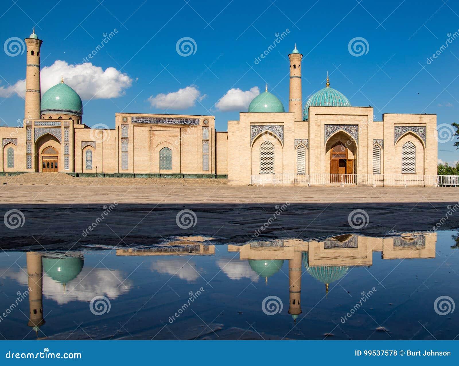 Khast Imam Mosque i Tasjkent, Uzbekistan