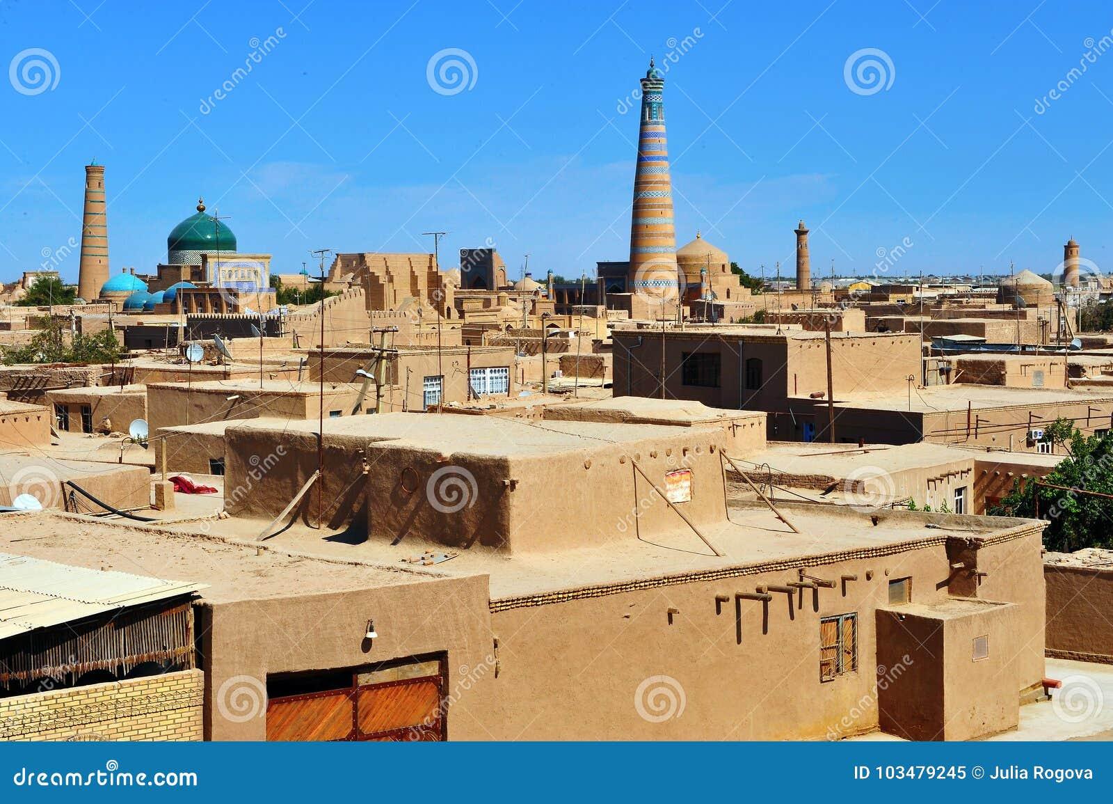 Khiva: pequeña ciudad histórica en Uzbekistán