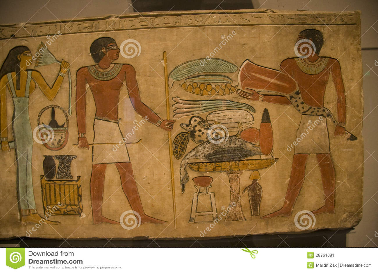 KHM Ägypten Ausstellung - alte Kunst