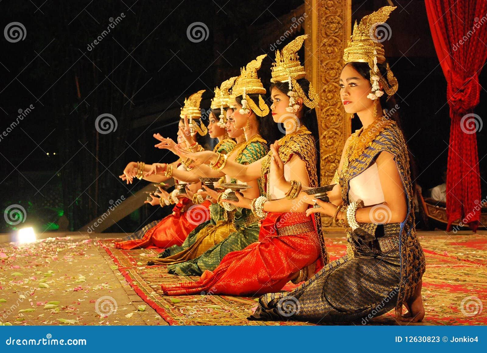 Khmer apsara Tanz