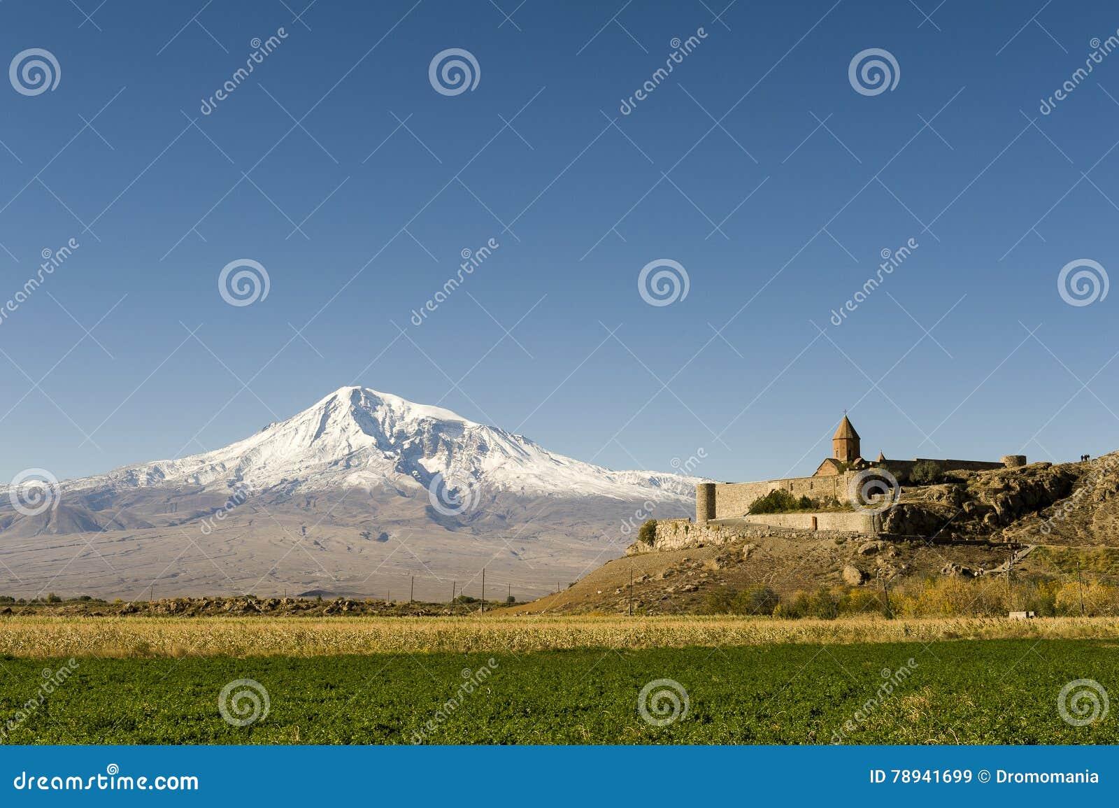 Khor Virap et mont Ararat