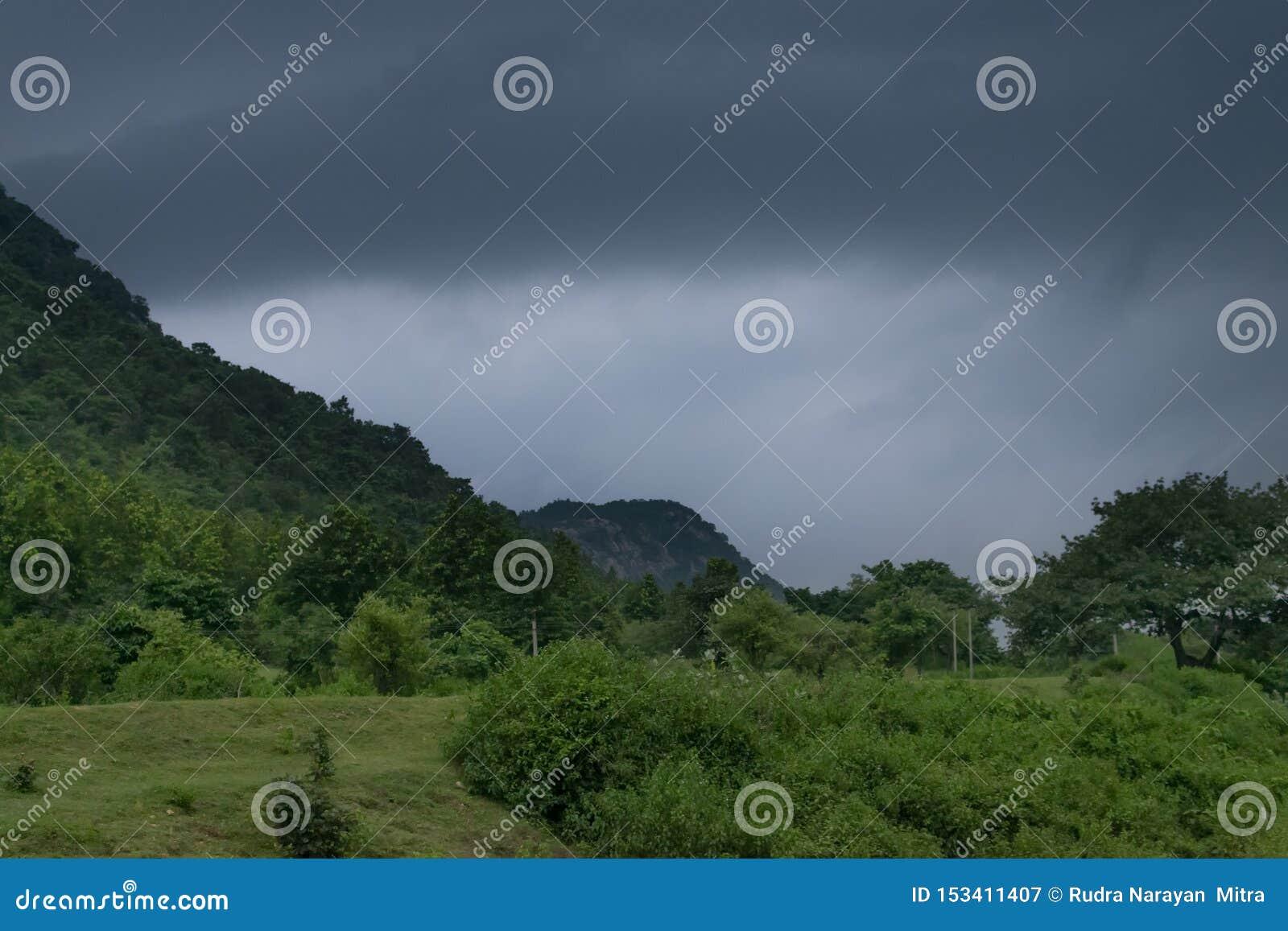 Khoyraberhi-Wasserverdammung - Purulia, Westbengalen, Indien