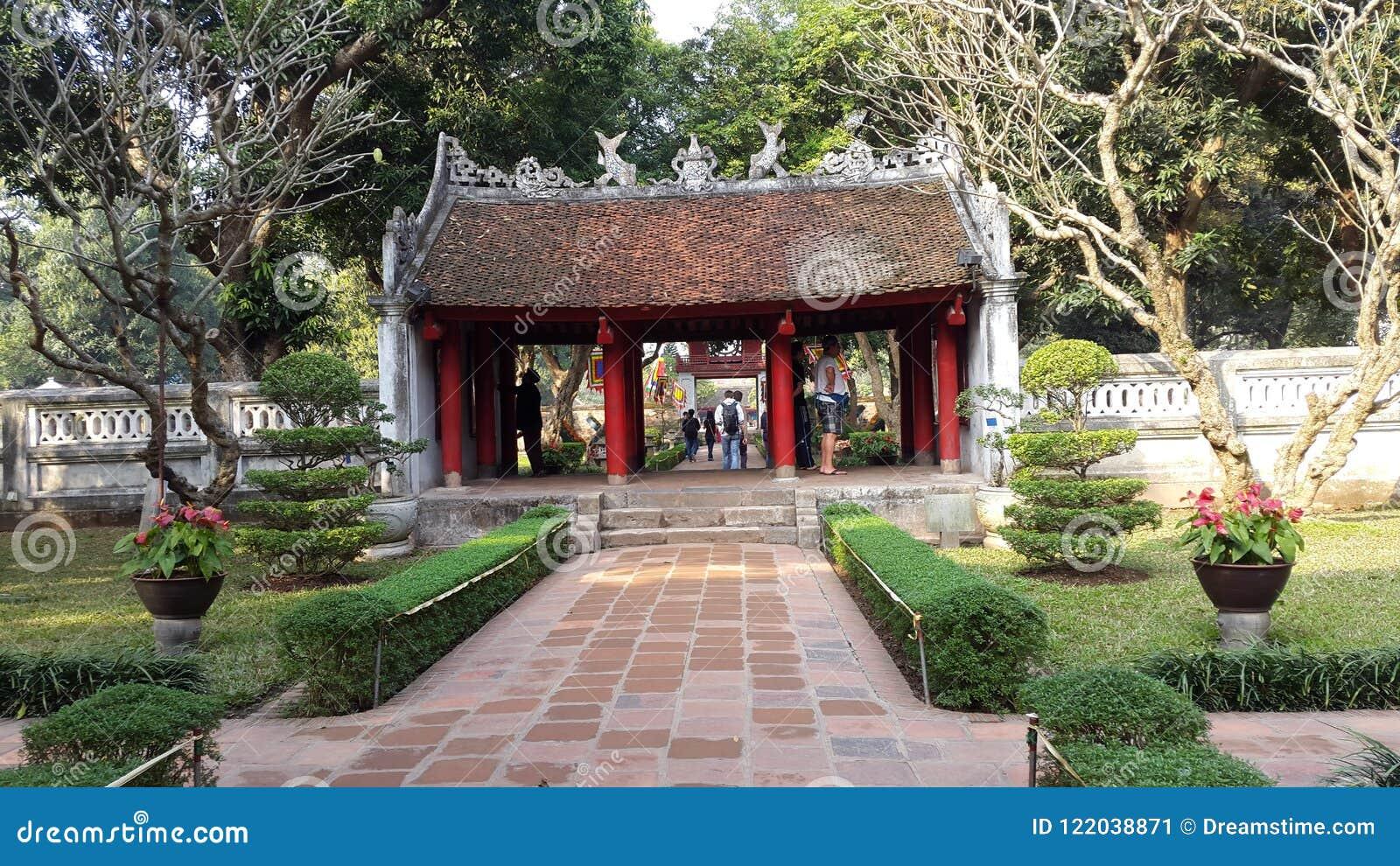 Khue Van pavilion, Tempel der Literatur, Hanoi, Vietnam