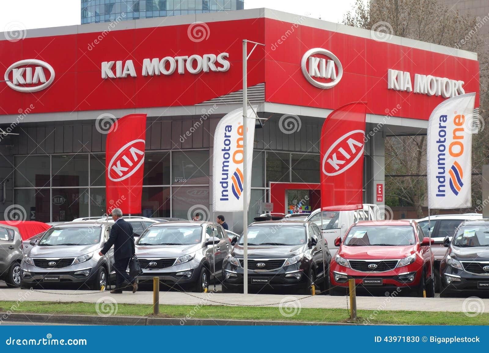 Kia motors dealer editorial image image of korea for Kia motors south korea