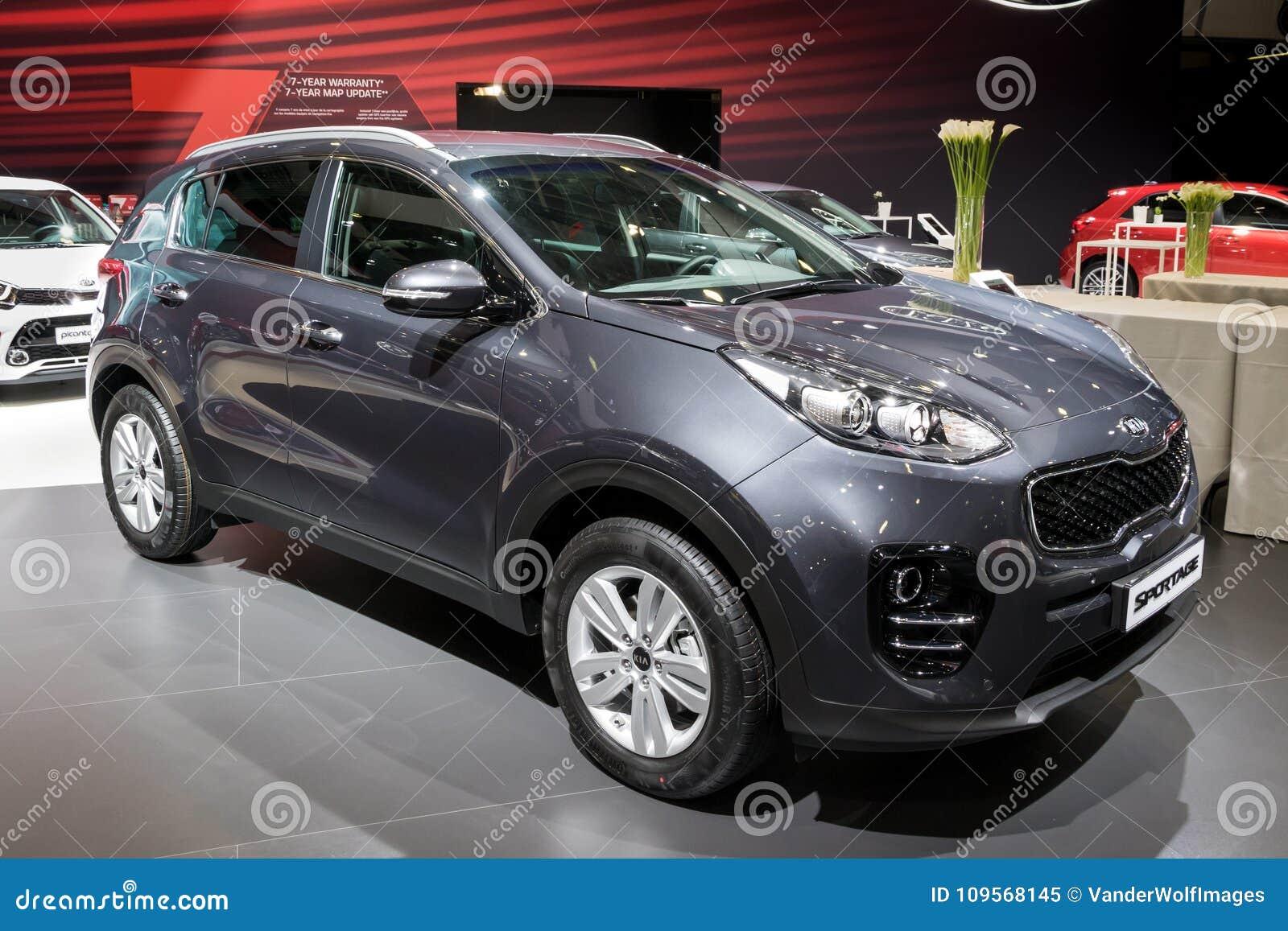 Kia Sportage Crossover SUV Car Editorial Image - Image of crossover