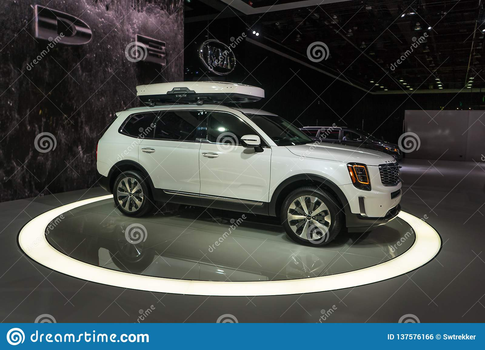 2020 Kia Telluride Editorial Photo Image Of 2020 Rack 137576166