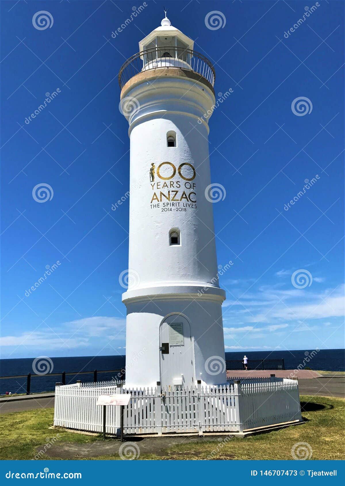 Kiama-Leuchtturm in New South Wales Australien