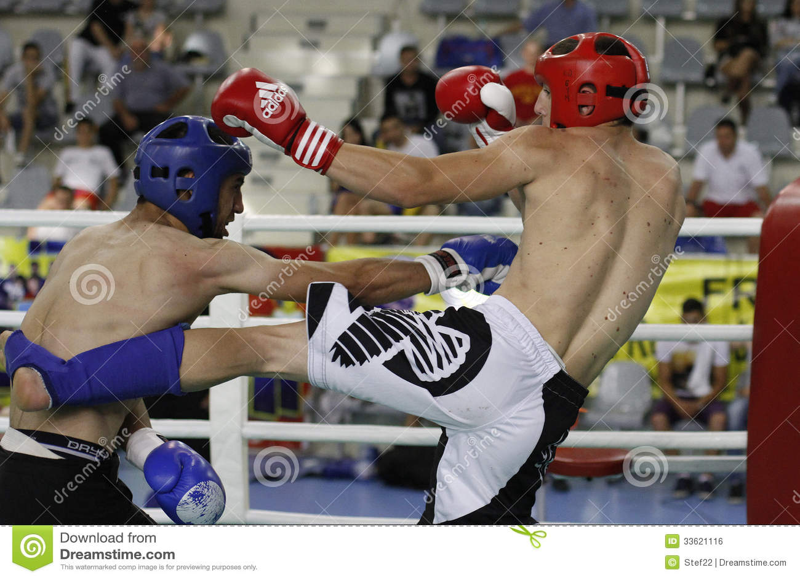 Kickboxing-Kampf