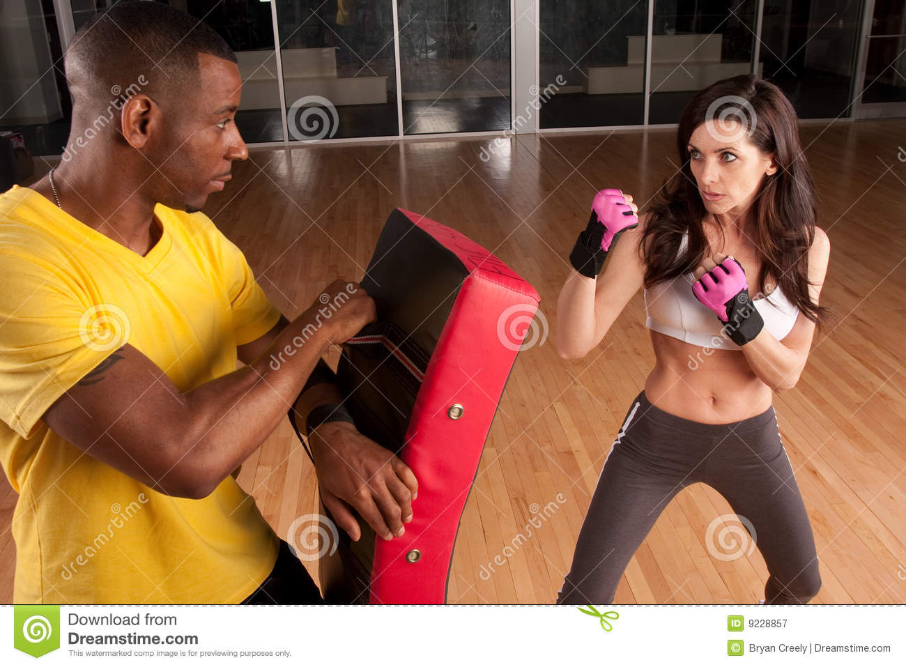 Fitness Kickboxing Stock Photos, Images, & Pictures - 6,401 Images