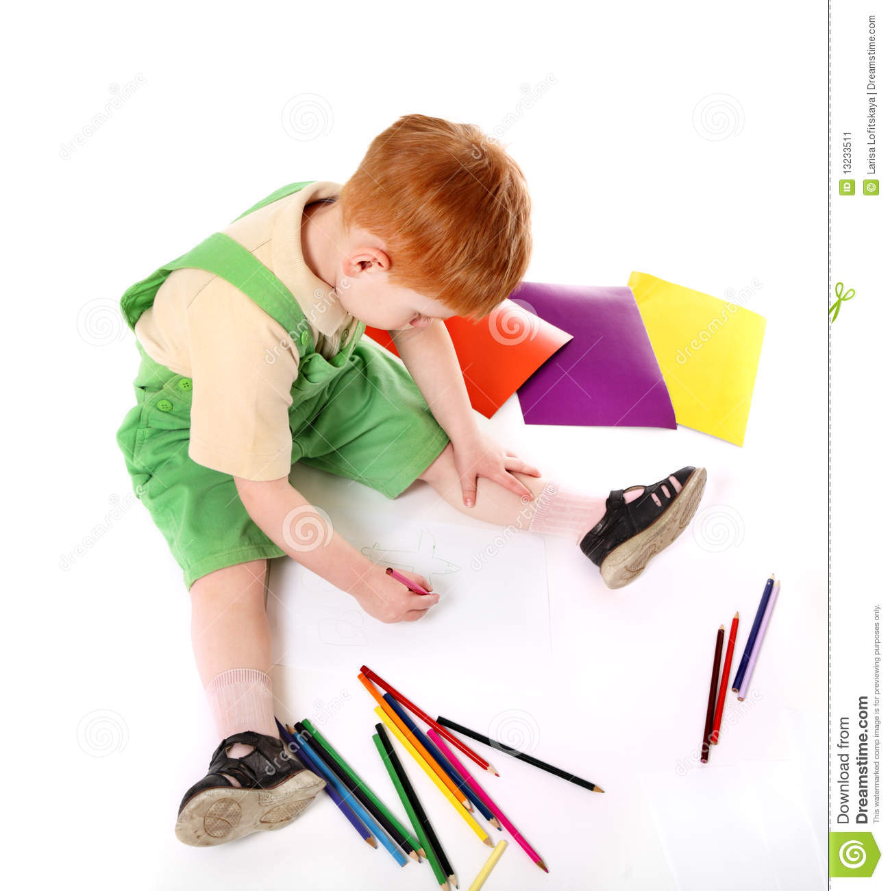 kid drawing top view - Kid Drawing Picture