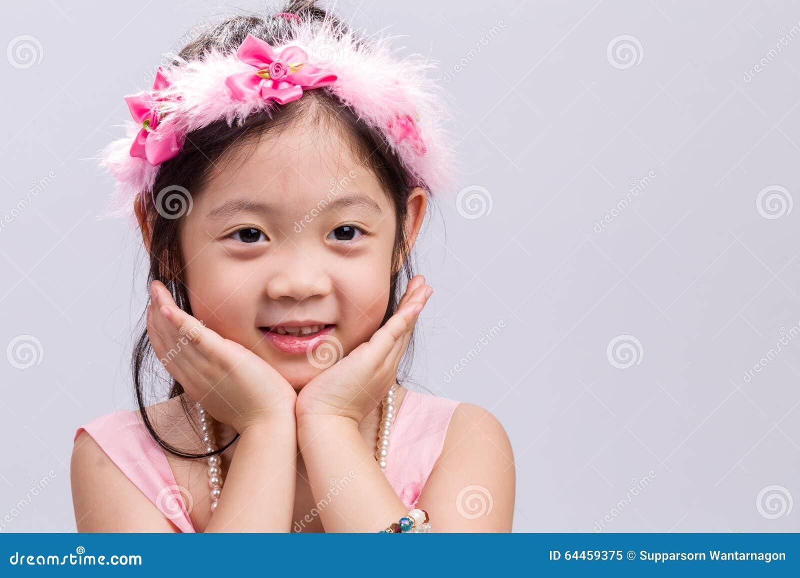 Kid With Flower Crown Stock Photo 64459375 Megapixl