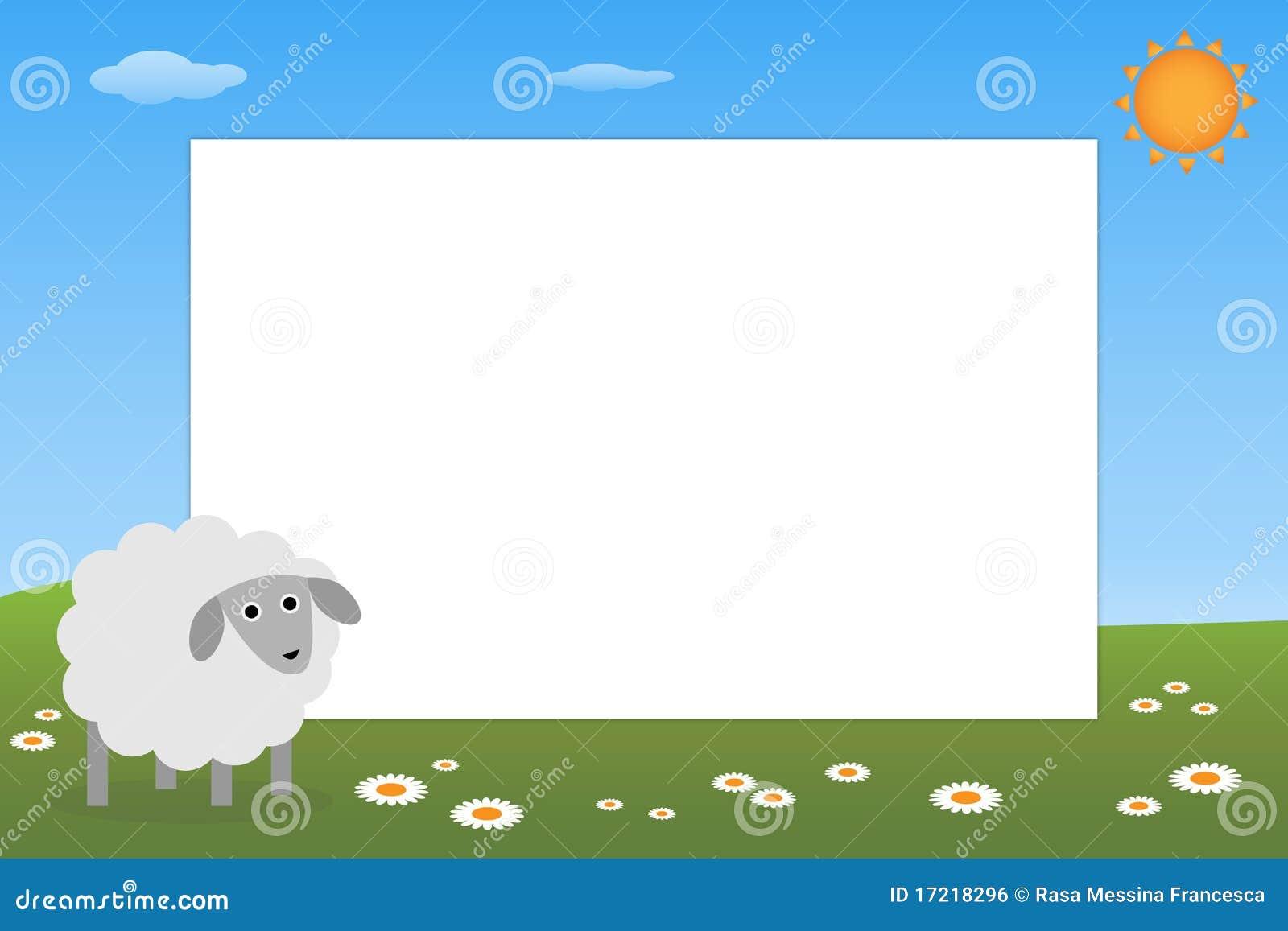 Kid Frame Sheep Royalty Free Stock Image Image 17218296