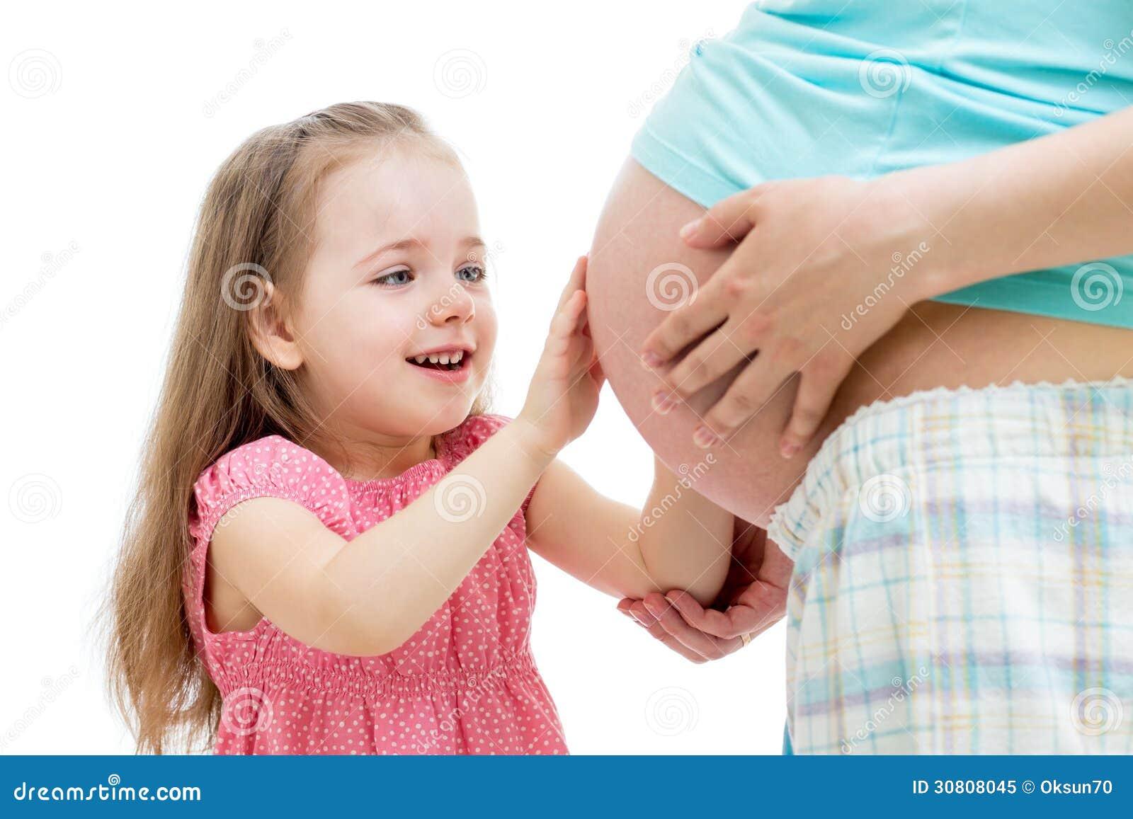 Дети трогают женщин фото