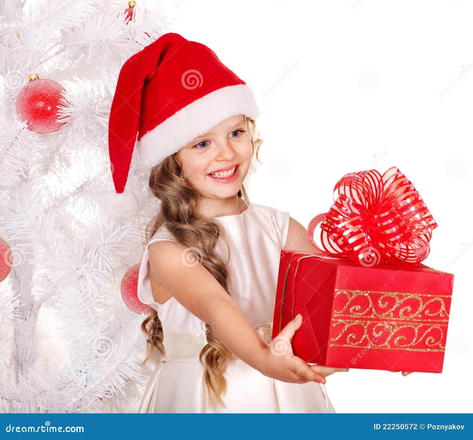 Kid giving christmas gift box stock photo image of gift open royalty free stock photo negle Choice Image