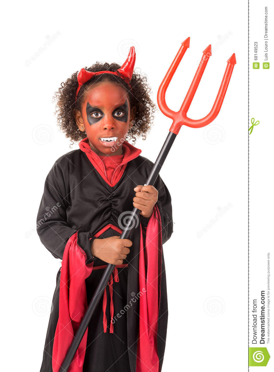 kid in halloween costume stock image. image of dress - 68149523