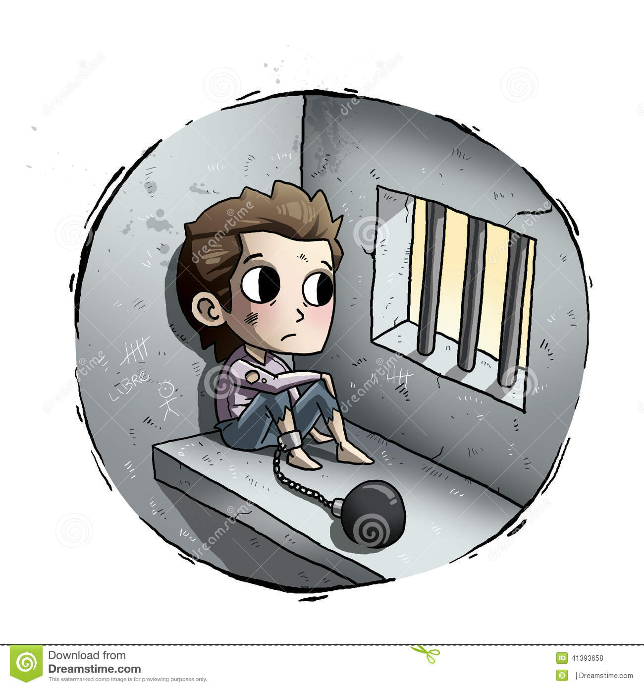 kid in jail stock illustration illustration of people jail clipart free download jail clip art funny