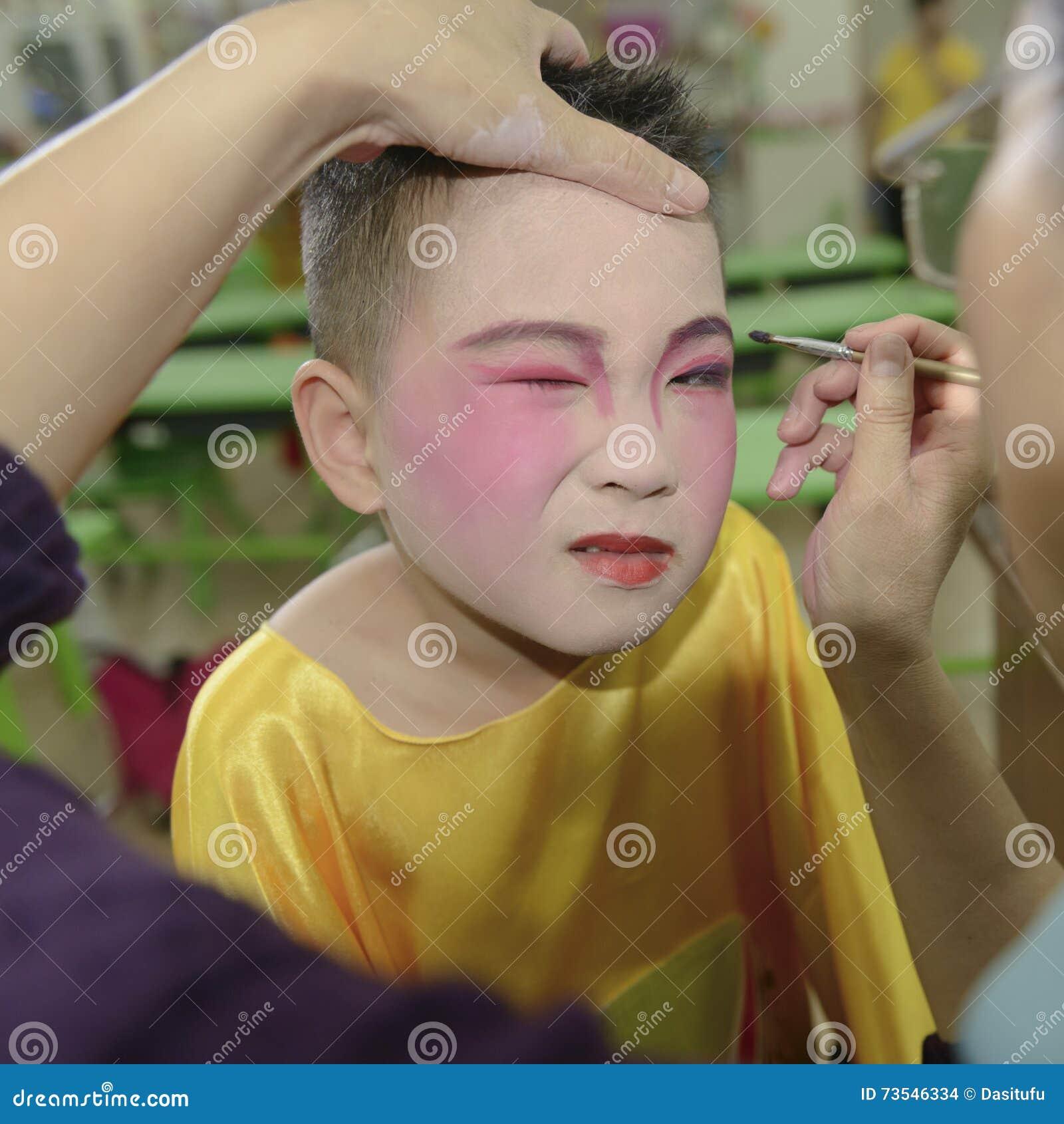 Kid makeup stock photo  Image of school, china, makeup