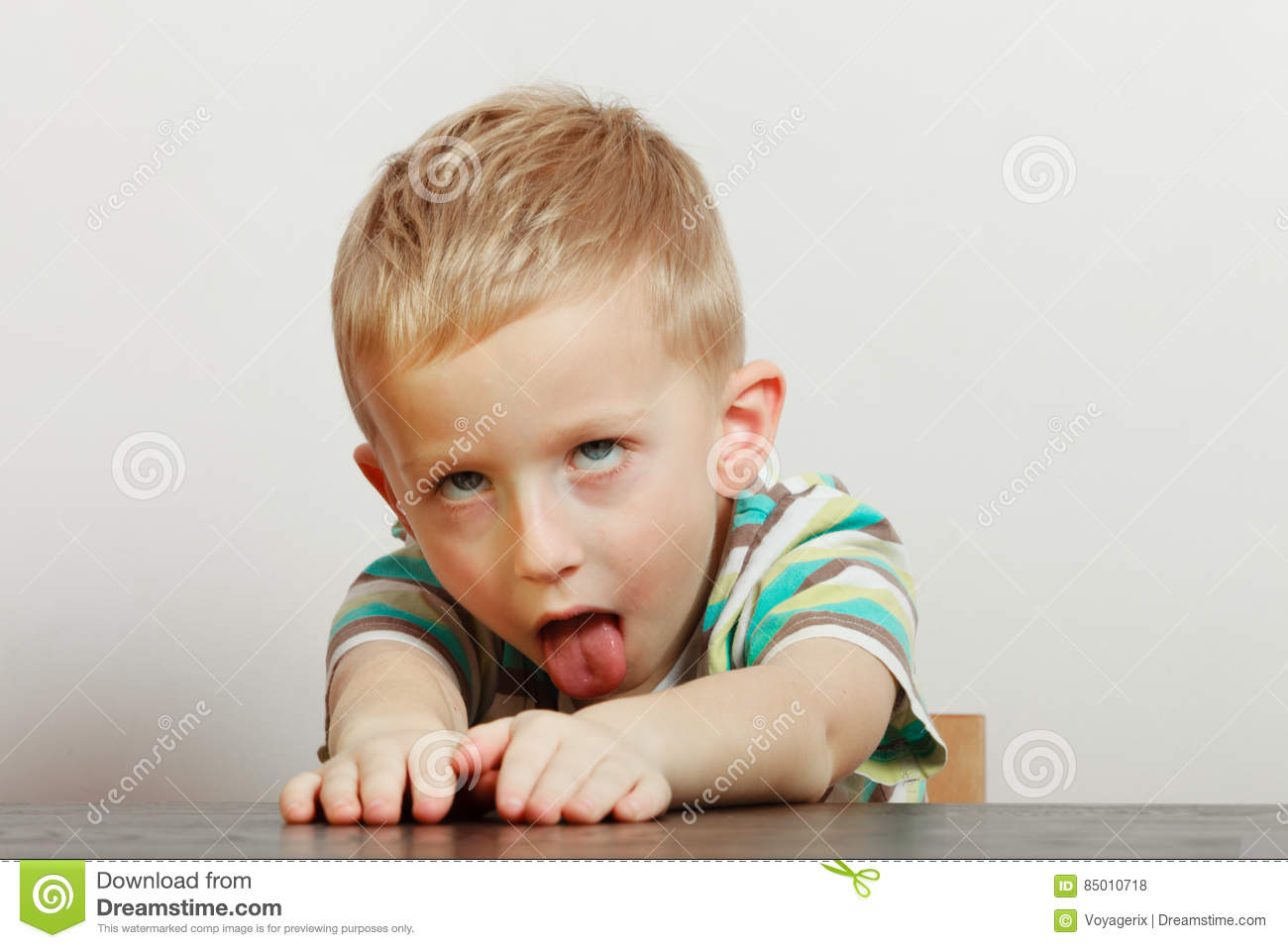 1e39d2420 Kid Making Funny Faces Being Bored Stock Photo - Image of bored ...