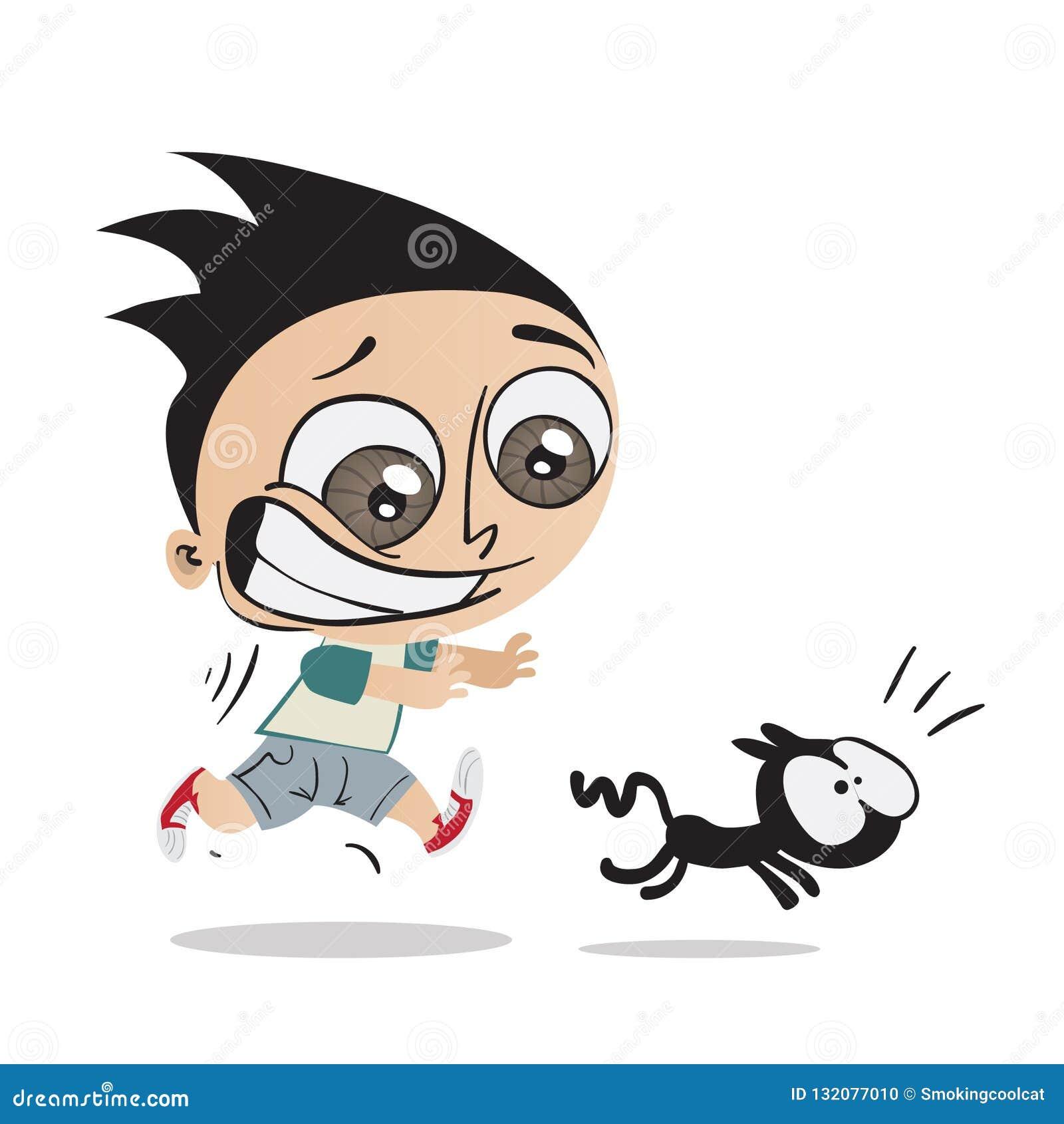 Running Cat Stock Illustrations 1 412 Running Cat Stock