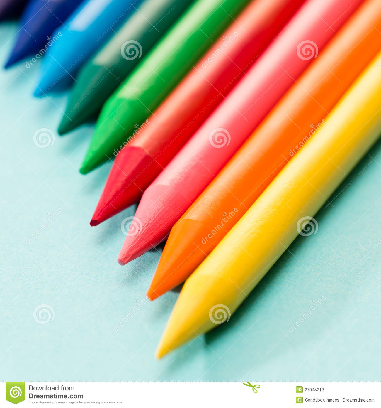 Royalty Free Stock Photo Download Kids Coloring Crayons