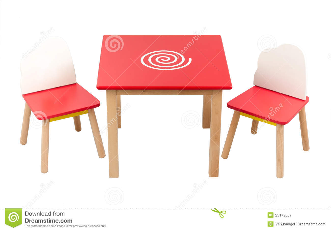 Excellent Kids Desk And Chairs Stock Image Image Of Home Smart Theyellowbook Wood Chair Design Ideas Theyellowbookinfo