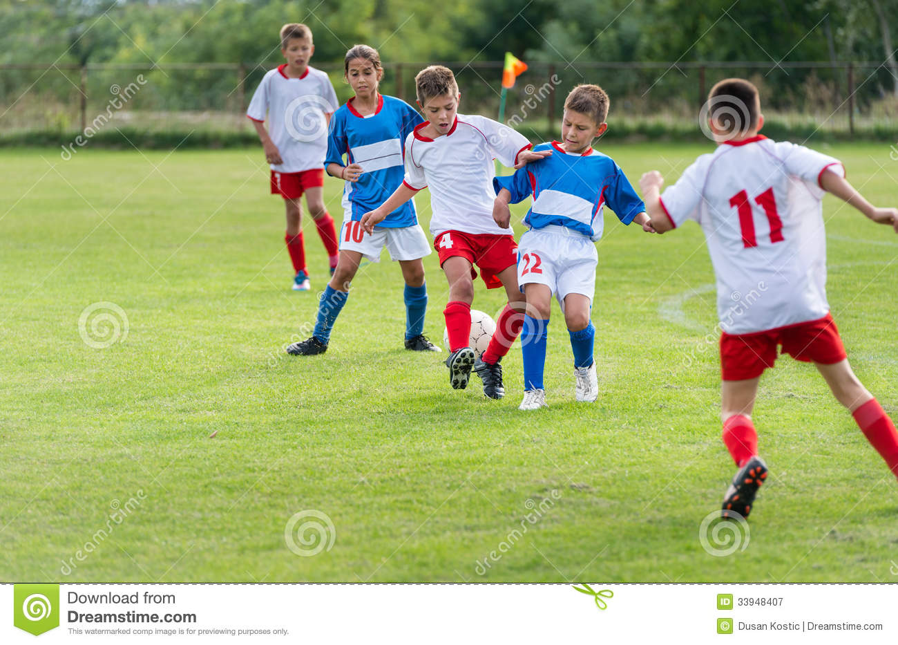 Kids Soccer Royalty Free Stock Photography - Image: 33948407