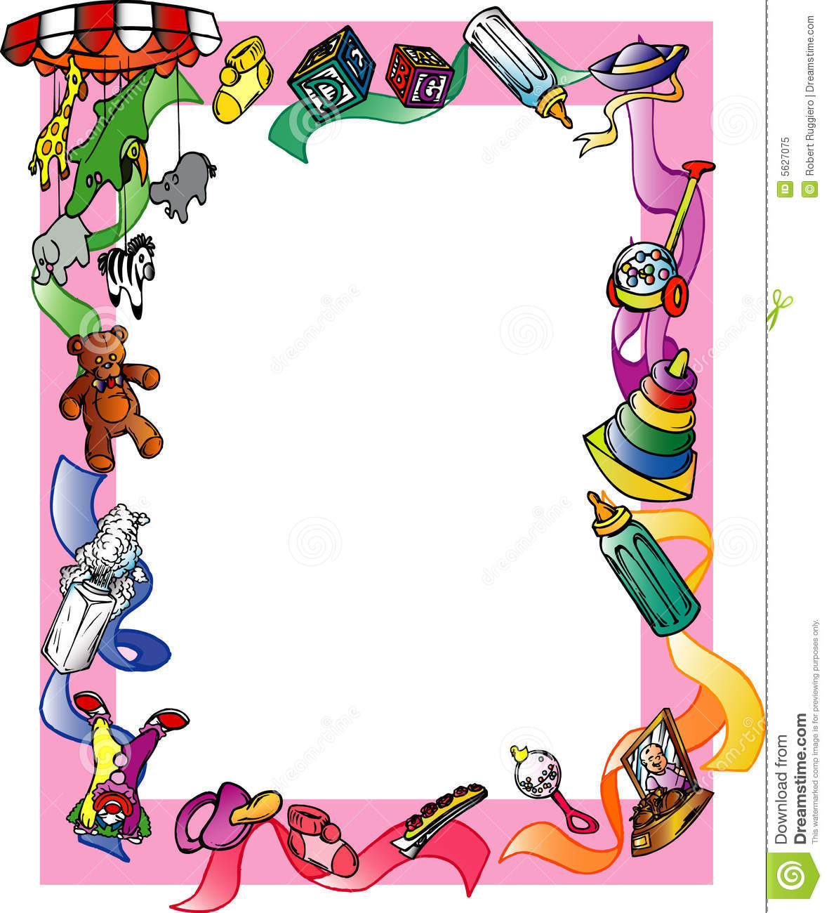 free clip art borders baby theme - photo #38