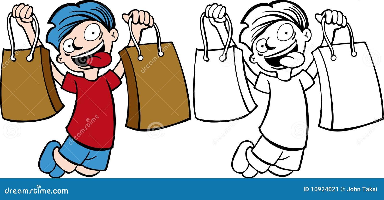 Kid Shopping Stock Image - Image: 10924021