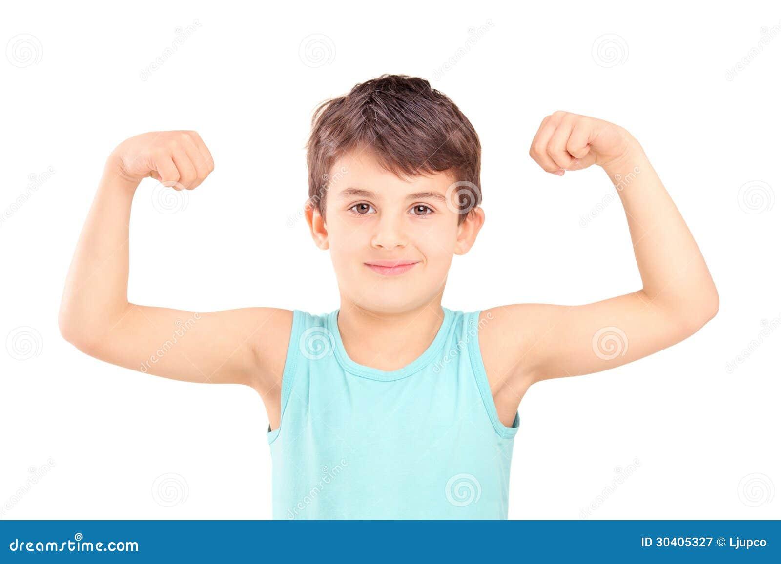 Little Kids Muscular