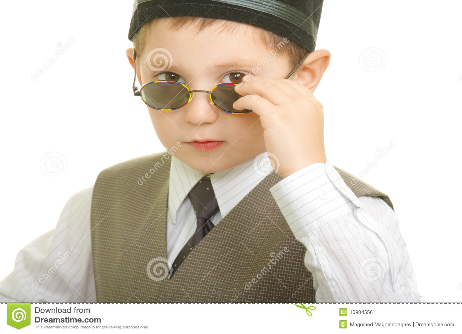 b34743df9fdb Kid in sunglasses stock photo. Image of shirt, child - 10984556