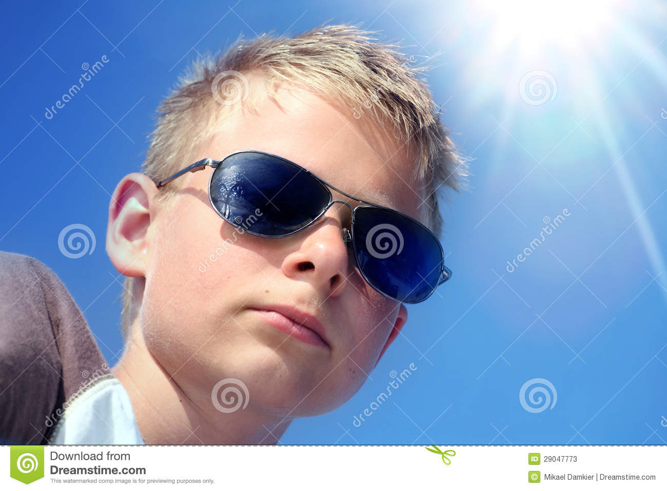 9ced2247670b Kid in sunglasses stock image. Image of lifestyle, people - 29047773