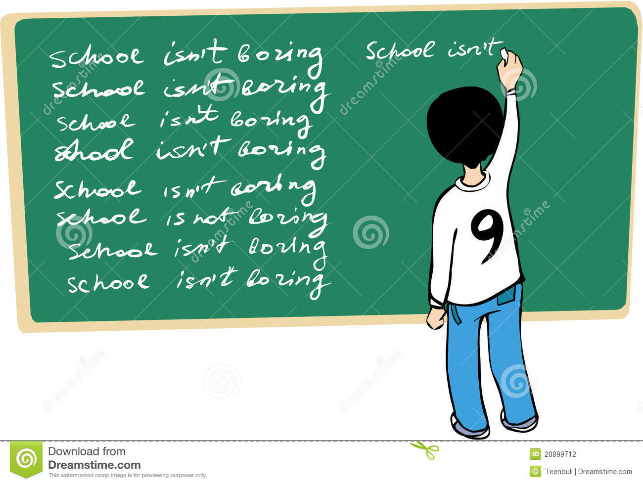 bockbord ritning ~ kid writing on the blackboard stock photography  image
