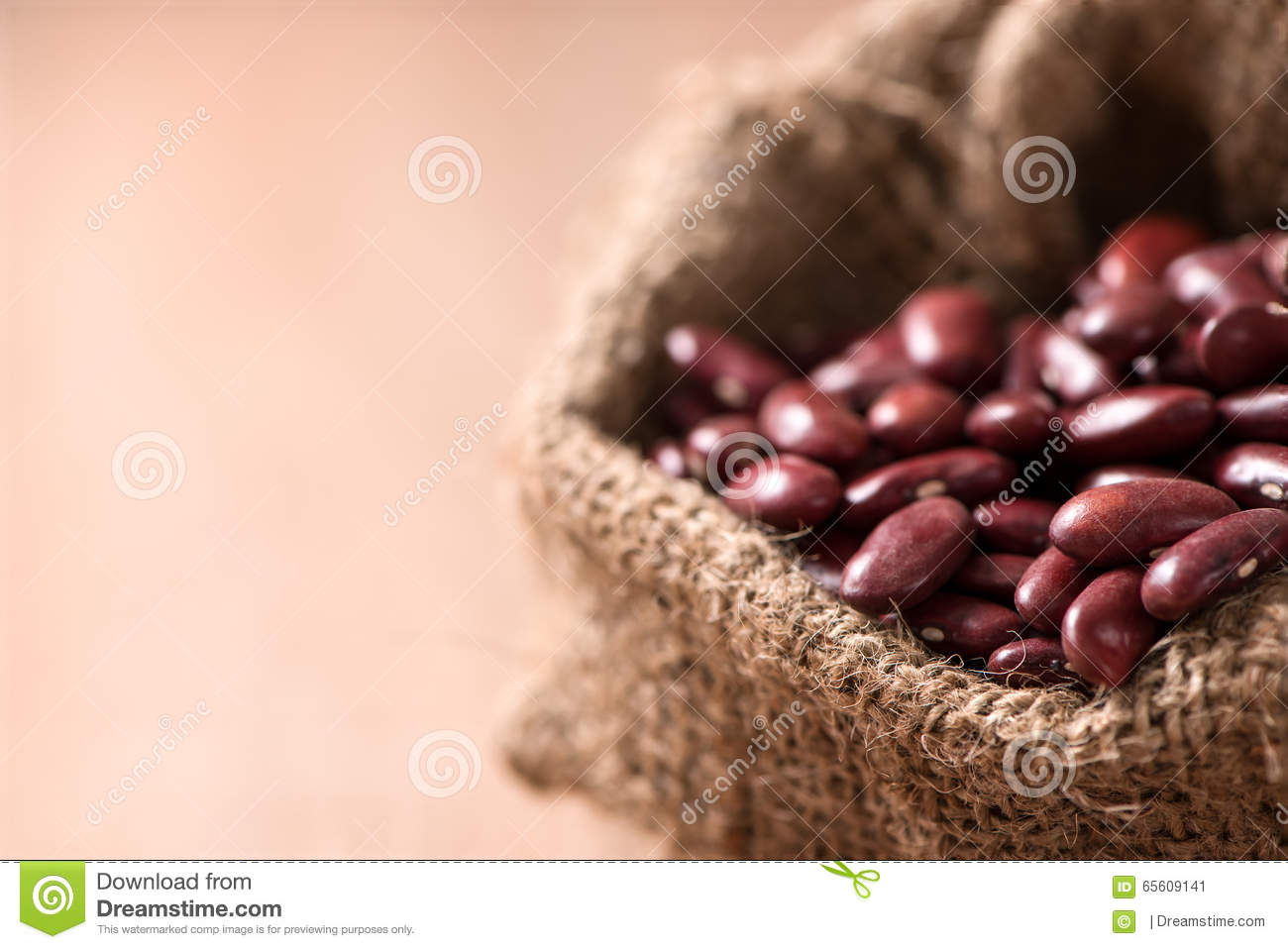 kidney bean table classroom download kidney beanred beans in sack on wood table stock image of
