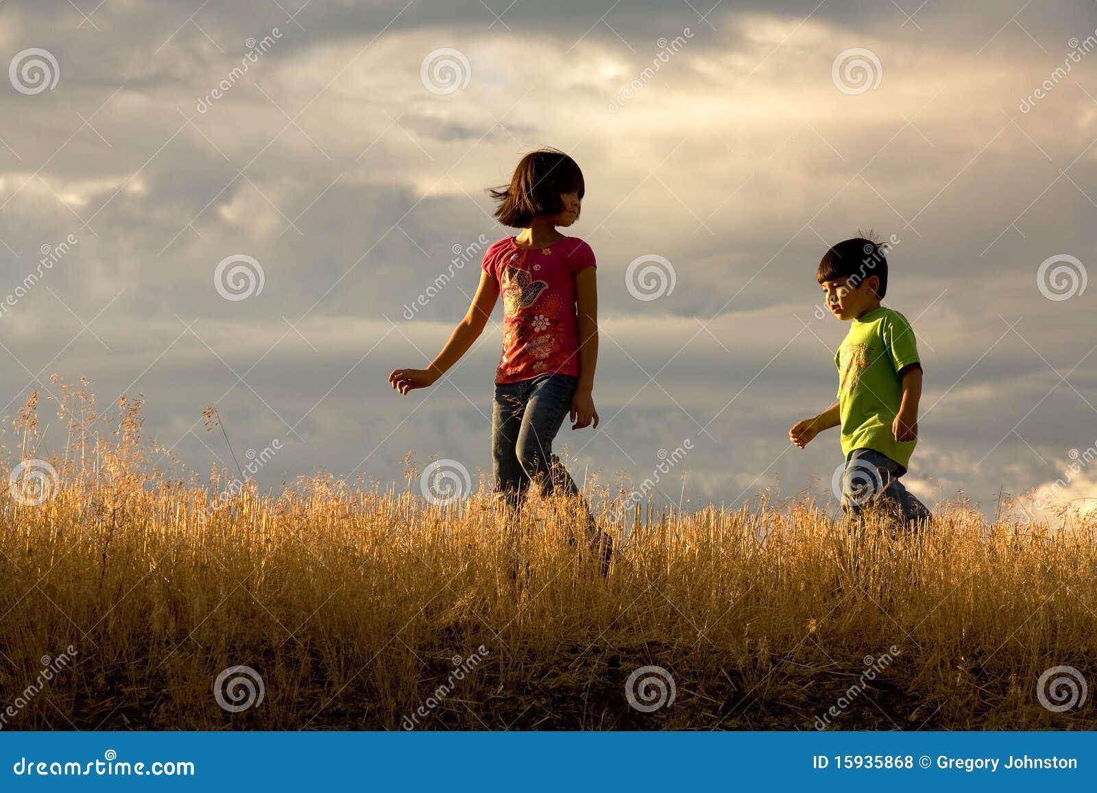 Kids Adventure. Royalty Free Stock Photos - Image: 15935868