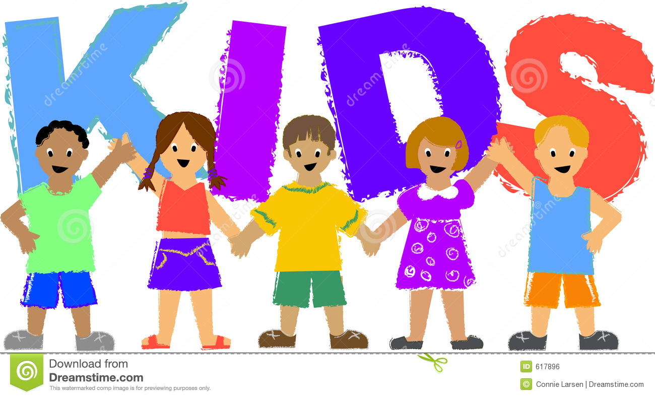 Kids/ai stock vector. Illustration of friends, children ...