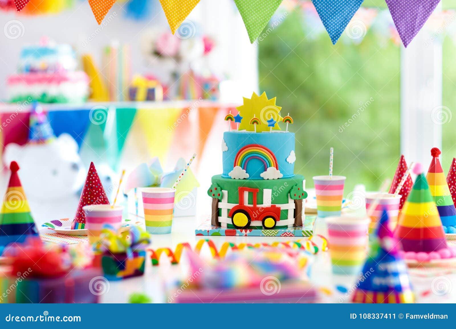 Super Boy Birthday Cake For Little Child Kids Party Stock Image Funny Birthday Cards Online Kookostrdamsfinfo