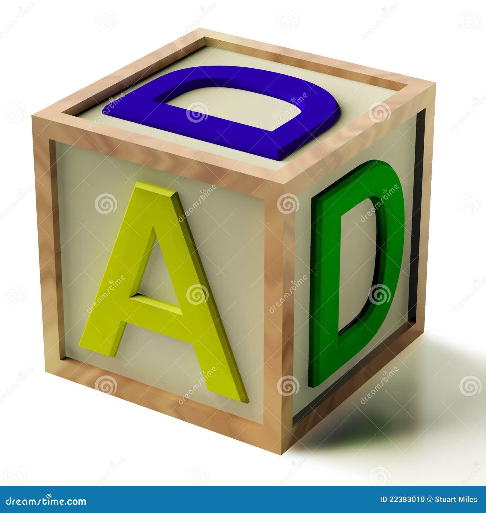 Kids block spelling dad as symbol for fatherhood stock illustration kids block spelling dad as symbol for fatherhood biocorpaavc Images
