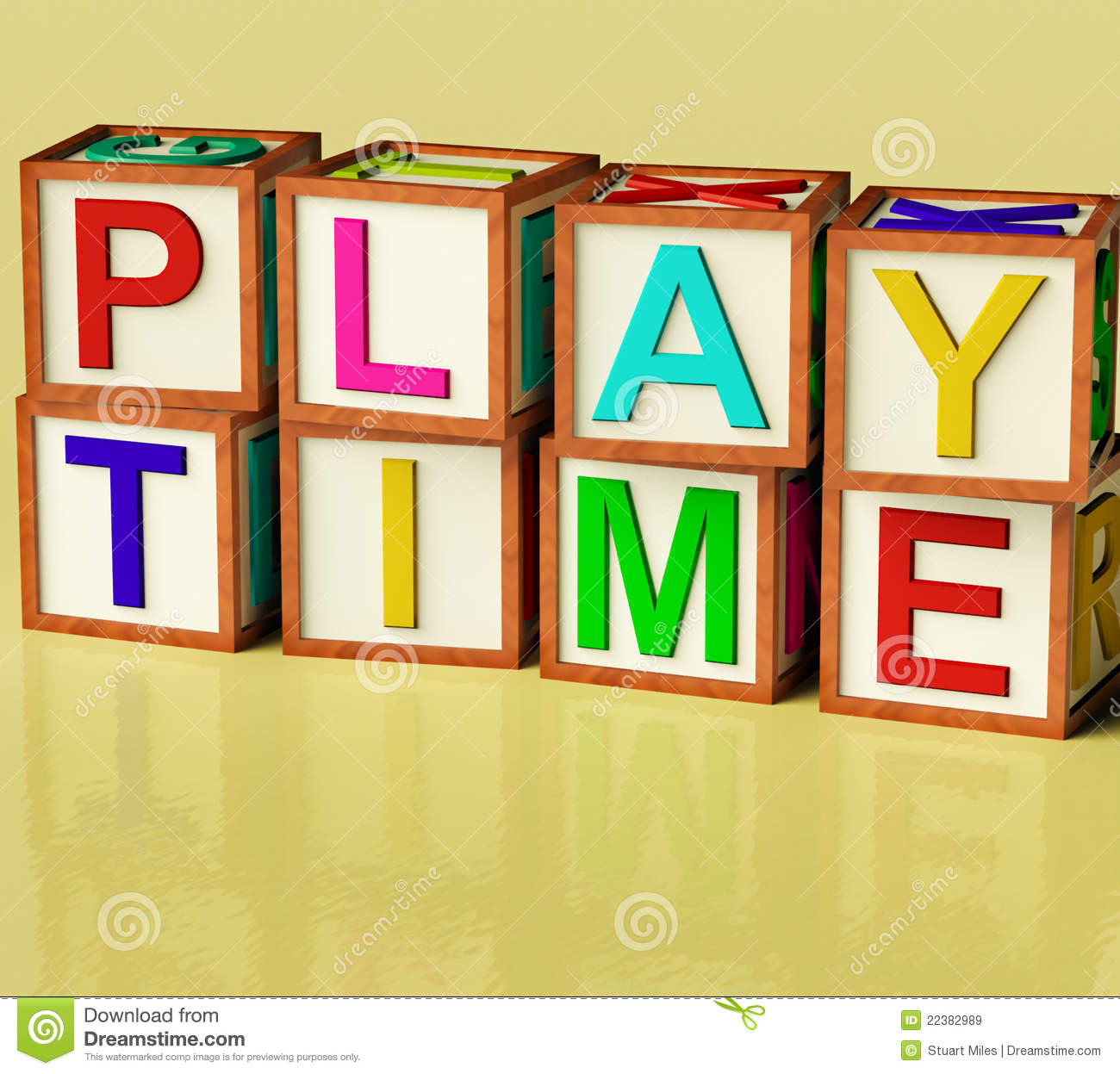 kids blocks spelling play time stock illustration - illustration of