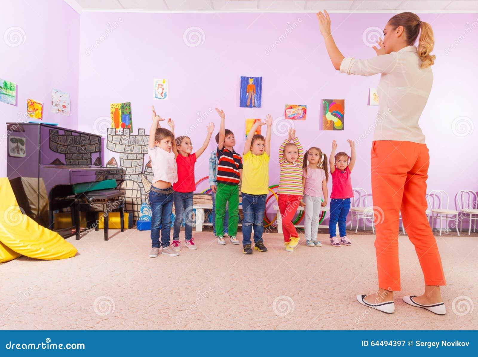 Preschooler Exercise