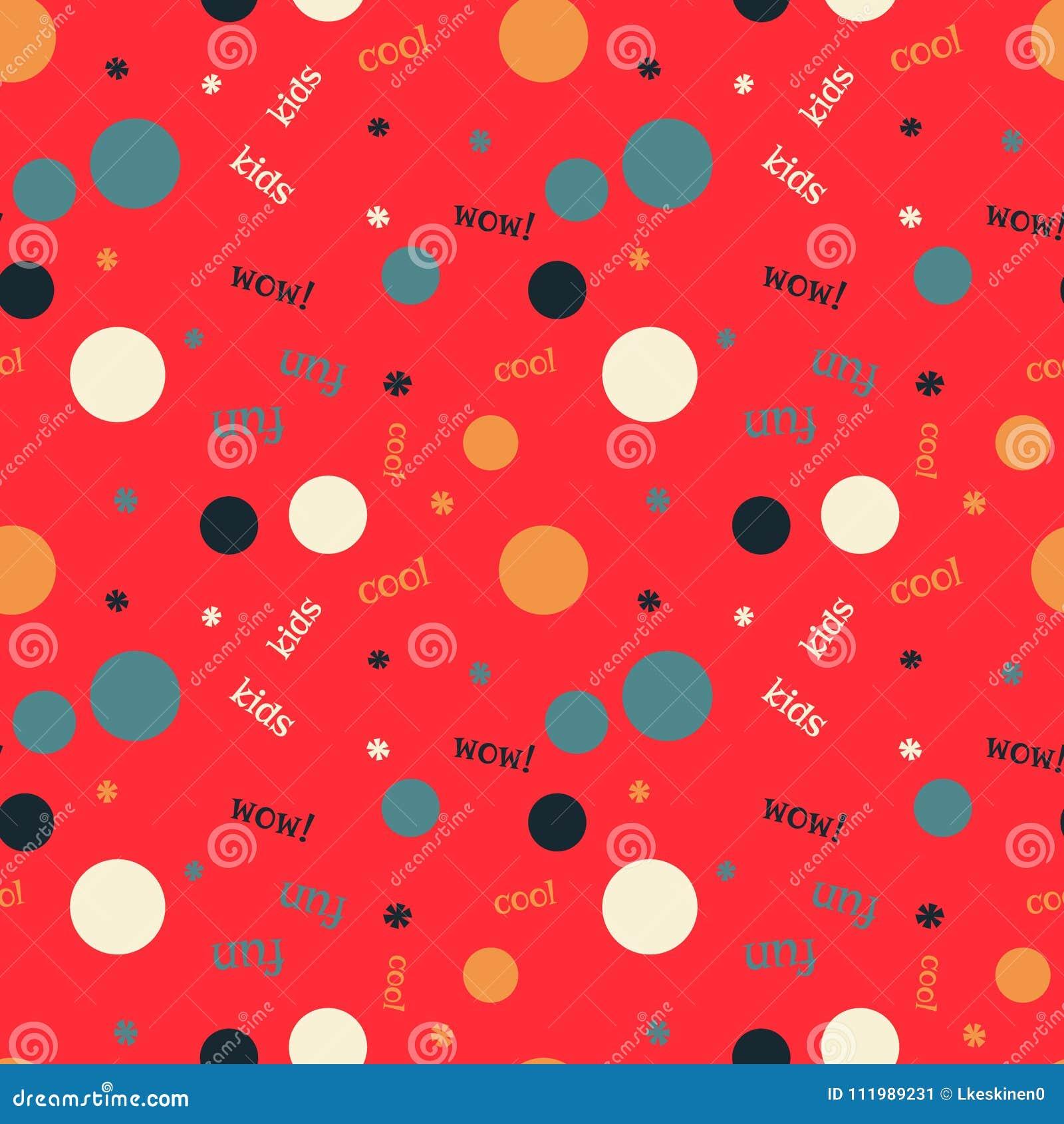 Bubble fabric pattern