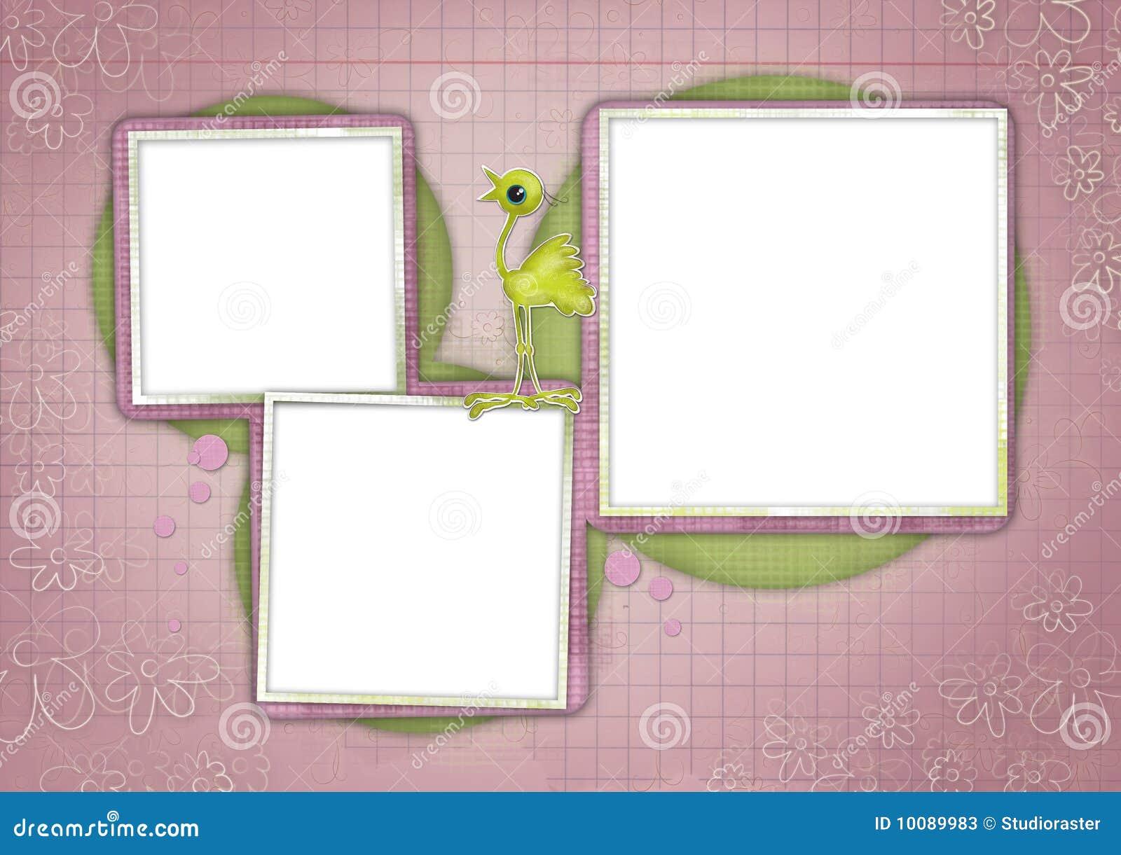 Kids Card 08 Stock Photos - Image: 10089983
