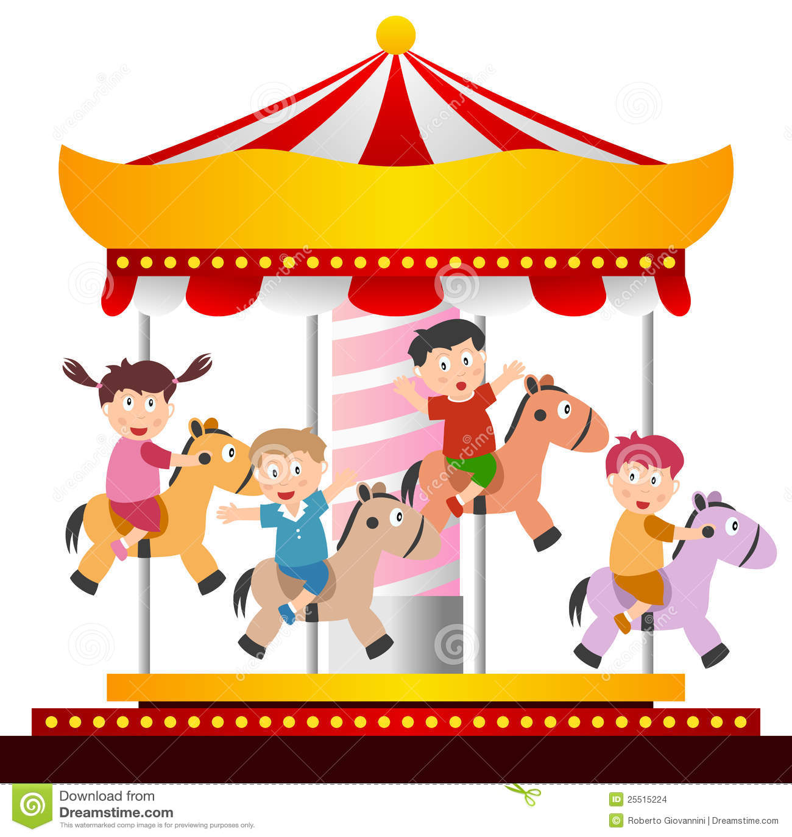 Kids on the Carousel