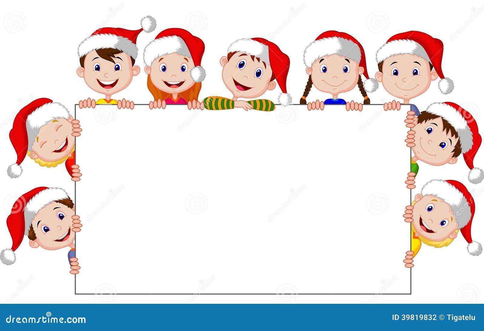 Kids Christmas Program Clipart